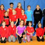 Der TSV Friedrichstein stellte das zweitgrößte Team beim Hallen-Mehrkampf in Melsungen. Foto: nh