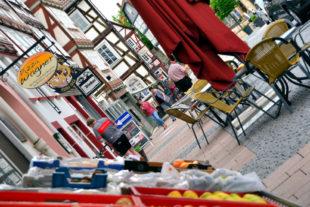 Marktplatz Homberg. Foto: Schmidtkunz