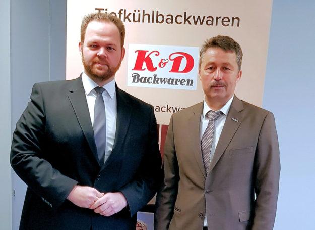 MdEP Engin Eroglu (li.) und Muhsin Kidik, Geschäftsführer K & D Backwaren. Foto: FREIE WÄHLER