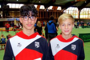 Marcel Al-Batat und Justin Enis. Foto: nh