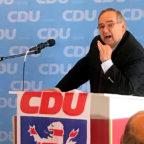 Bernd Siebert auf dem Bezirksparteitag in Guxhagen. Foto: nh