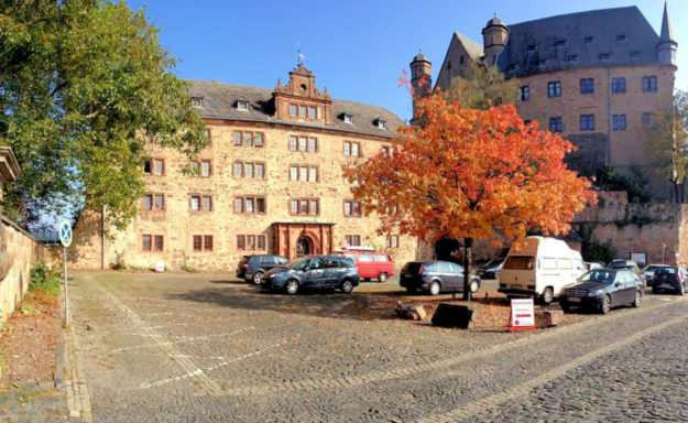 Der Alte Marstall ist das Hauptgebäude des Collegiums Philippinum. Neben den Studentenzimmern sind dort noch Speisesaal, Küche, Bibliothek und der Gemeinschaftsraum untergebracht. Foto: Collegium Philippinum