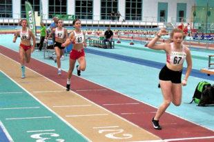 Vivian setzte sich über 300 Meter mit 40,90 Sekunden gegen die starke Konkurrenz aus Magdeburg durch. Foto: nh