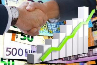 Mit schlüssigem Konzept und guter Finanzierungsberatung können Unternehmen gemeinsam mit der WI-Bank die Weichen auf Erfolg stellen. Montage: SEK-News