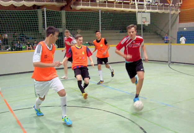 Zusätzlich zum Zeugniskino wird der Schwalmstädter Jugend die 22. Streetball-Party geboten. Foto: nh