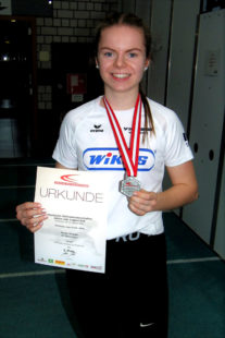 Kann Vivian Groppe auch gegen die drei Jahre ältere Konkurrenz eine Medaille über 400 Meter gewinnen. Foto: nh