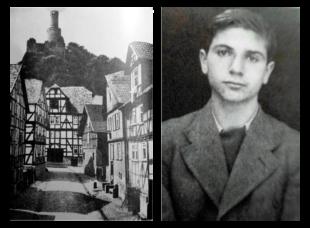 Palästina war sein Traum, der Hass der Felsberger Nazis sein Tod. Max Weinstein wurde in Auschwitz ermordert. Fotos: Stadtarchiv Felsberg | Nationaal Archief Niederlande