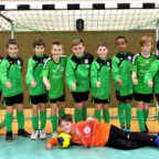 Das Sieger-Team der Futsal-Hallenkreismeisterschaften der Saison 2019/20 ist die D2-Jugend des FV Felsberg/Lohre/Niedervorschütz. Foto: Thomas Schopf