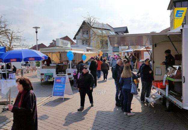 Die 11. Frühjahrsmesse von Handel und Dienstleistung öffnet am 4. April in Borken ihre Pforten. Foto: nh