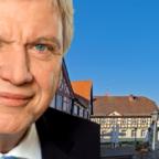 Ministerpräsident Volker Bouffier verurteilte die Bluttat von Hanau aufs Schärfste.
