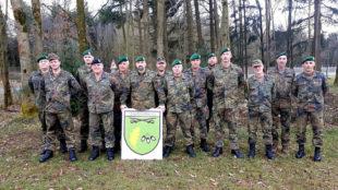 Treffen des Führungsstabes in Schwarzenborn. Die Soldaten kümmerten sich um Weiterbildung und Ausbildungsplanung. Foto: Reimund Kirbach