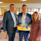 Nils Weigand, Vorsitzender der FDP Schwalm-Eder, mit dem Bundestagsabgeordneten Dr. Gero Hocker und der Landtagsabgeordneten Wiebke Knell (v.li.). Foto: Reinhold Hocke