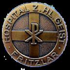 Das Emblem des Hospitals zum Heiligen Geist, Fritzlar. Foto: nh