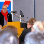 Der Sozialdemokrat und DGB-Kreisvorsitzende Hajo Rübsam appelliert an die Beschäftigen insbesondere in kleinen Unternehmen, den Schulterschluss zur Gewerkschaft zu suchen, um wieder gute Arbeitsbedingungen durchzusetzen. Foto: DGB