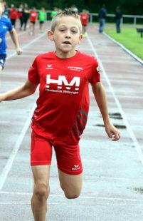 Jean Heilmann wird immer schneller. Der erst 10-Jährige hat sich als tempoharter und ausgebuffter Taktiker erwiesen. Foto: nh