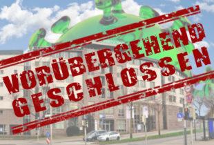 Seit dem Wochenende hat die IHK Kassel-Marburg ihre Geschäftsräume für den Publikumsverkehr geschlossen. Fotomontage: SEK-News
