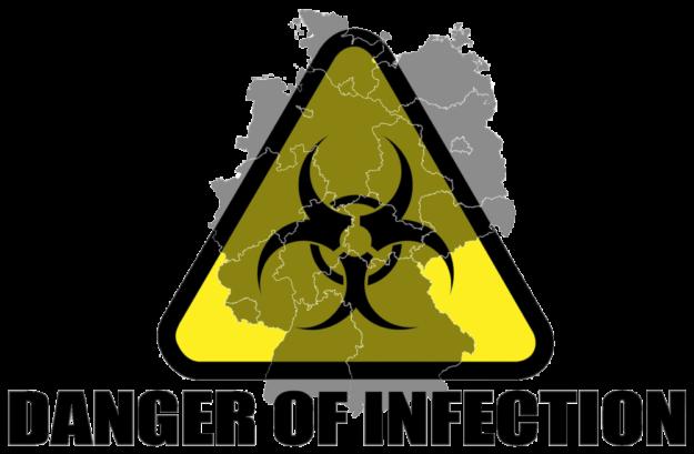 Das Corona-Virus ist in Nordhessen angekommen. Bis zum Abend meldeten Hersfeld-Rotenburg sechs und Schwalm-Eder drei Infizierte. Hessenweit sind es zur Stunde 93 Fälle von Corona-Erkrankungen. Grafik: Gerd Altmann | Pixabay