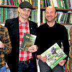 Freuen sich auf eine erfolgreiche Zusammenarbeit: Sebastian Härtig, Heiko Schwartz, Sven Baumbach und Conrad Fischer. Foto: nh