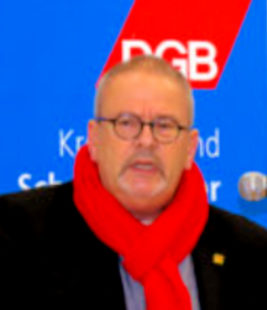 DGB-Kreisvorsitzender Hajo Rübsam. Foto: nh