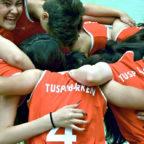Im noch jungen Team der Basketballerinnen fördert der TuSpo Borken Integration und Zusammenhalt. Foto: nh