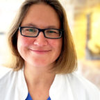 Katja Harnischfeger, Chefärztin der Geburtshilfe im Hospital zum Heiligen Geist. Foto: nh