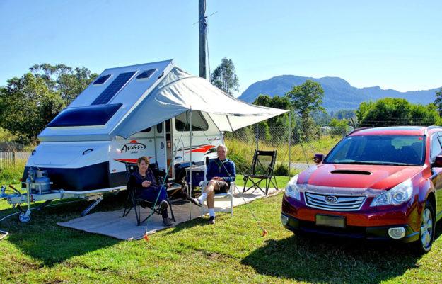 Camping ist als Alternative zum Sommer-Auslandsurlaub wieder groß im Kommen. Foto. Siggy Nowak | Pixabay