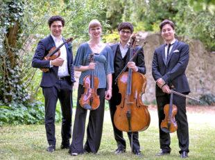 Das Schumann Quartett kommt in die Haydau. Foto: Heiko Meyer   nh