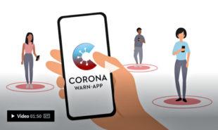 Hinter diesem Bild verbirgt sich ein Erklär-Video zur neuen App. Quelle: Bundesregierung
