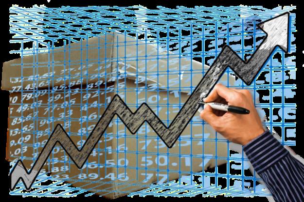 Durch das Konjunkturpaket soll es mit der Wirtschaft wieder bergauf gehen. Grafik: Altmann / Schmidtkunz
