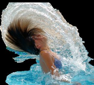 Zwar noch unter Corona-Bedingungen, aber doch schon eine Erfrischung: Das Wasservergnügen im Ernst-Schaake-Bad. Foto: Jacqueline Macou | Pixabay