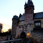Zu Sonnenaufgang beim Schloss Spangenberg. Foto: dav | nh