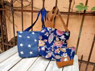 Schöne Handtaschen und Beutelchen können nach Anleitung – oder eigenkreativ – im Werkraum gefertigt werden. Foto: nh