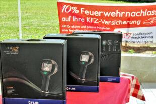 Die Wärmebildkameras sind vielfältig für Brandherdermittlung und Personensuche einsetzbar. Foto: SparkassenVersicherung | nh