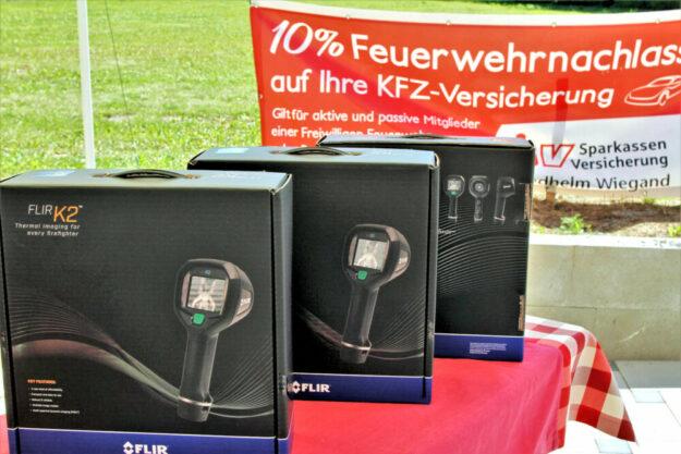 Die Wärmebildkameras sind vielfältig für Brandherdermittlung und Personensuche einsetzbar. Foto: SparkassenVersicherung   nh