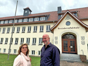 Cornelia Henkel und Dr. Christoph Pohl, FREIE WÄHLER Schwalm-Eder. Foto: nh