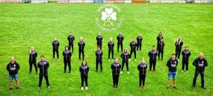 Die Spielvereinigung startet mit zwei Frauenmannschaften in die Saison 2020/21. Dafür gab es neue Präsentationsanzüge. Foto: SpVgg Zella/Loshausen