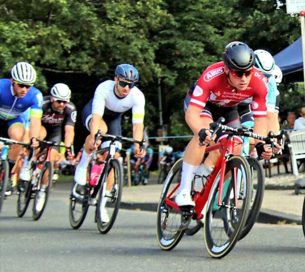 Vitus Obermann konnte beim Rennen in Refrath Akzente setzen. Foto: Merle Obermann