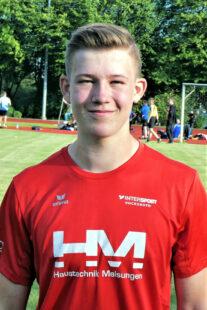 Der 15-jährige Luis peilt bei den Landesmeisterschaften der U18 im Diskuswerfen mindestens Bronze an. Foto: nh