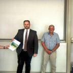 Engin Eroglu (2.v.li.), EU-Abgeordneter und Vorsitzender der FREIE WÄHLER Hessen, war zum politischen Austausch beim Hessischen Bauernverband. Foto: FREIE WÄHLER