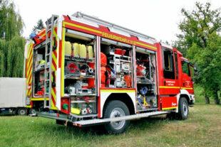 Das neue Feuerwehrauto hat es in sich. Foto: nh