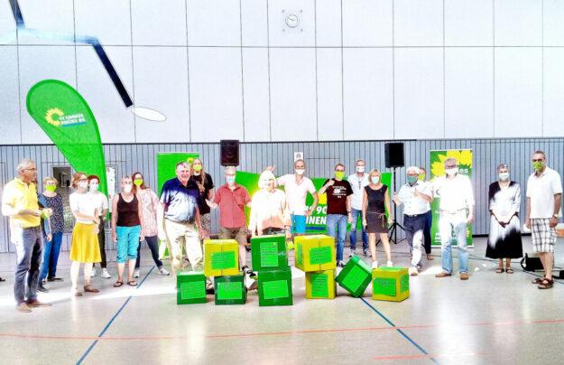 Ein Zukunftsprogramm über viele Themen hat sich Bündnis'90/Die Grünen zusammengestellt. Foto: nh
