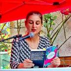 """Autorin Dotschy Reinhardt liest aus ihrem Buch """"Everybody's Gypsy"""". Foto: nh"""