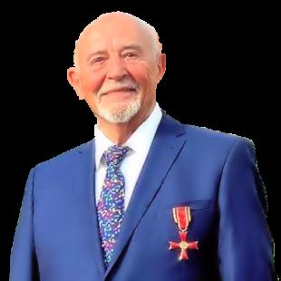 Konrad Krass erhielt Anfang August 2020 das Bundesverdienstkreuz am Bande. Foto: Staatskanzlei