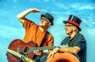 Den Gudensbergern aus den Kellerkonzerten bekannt: Das Duo Metzo Max. Foto: nh