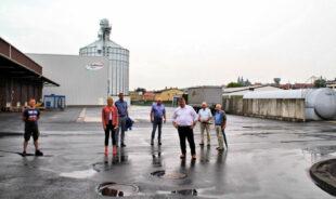 In der Raiffeisen Warenzentrale konnte sich die christdemokratische Delegation ein Bild von der Bedeutung für die Landwirtschaft machen. Foto: nh