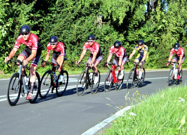 Endlich wieder auf Strecke. Im Rohloff-Cup können die Radler vom MT Regio Team ihre Stärken voll ausfahren. Foto: Merle Obermann