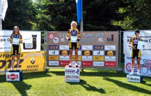 Als einzige Vertreterinnen ihrer Altersklasse trugen die Fahrerinnen der ZG die Meisterschaften unter sich aus. Foto: nh