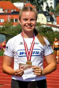 Vivian Groppe ist die hessische Sprint-Queen in der U18. Foto: nh