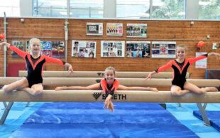 Trotz der Pandemie stellten die jungen Turnerinnen der Turntaltentschule Nordhessen ihr gutes Leistungsniveau unter Beweis. Foto: nh