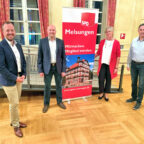 Timo Riedemann, Jan Rauschenberg, Ulrike Hund und Volker Klute (v.li.). Foto: SPD